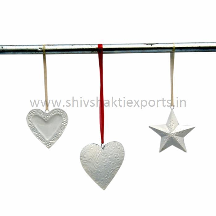 Christmas Decorative Stars and Heart