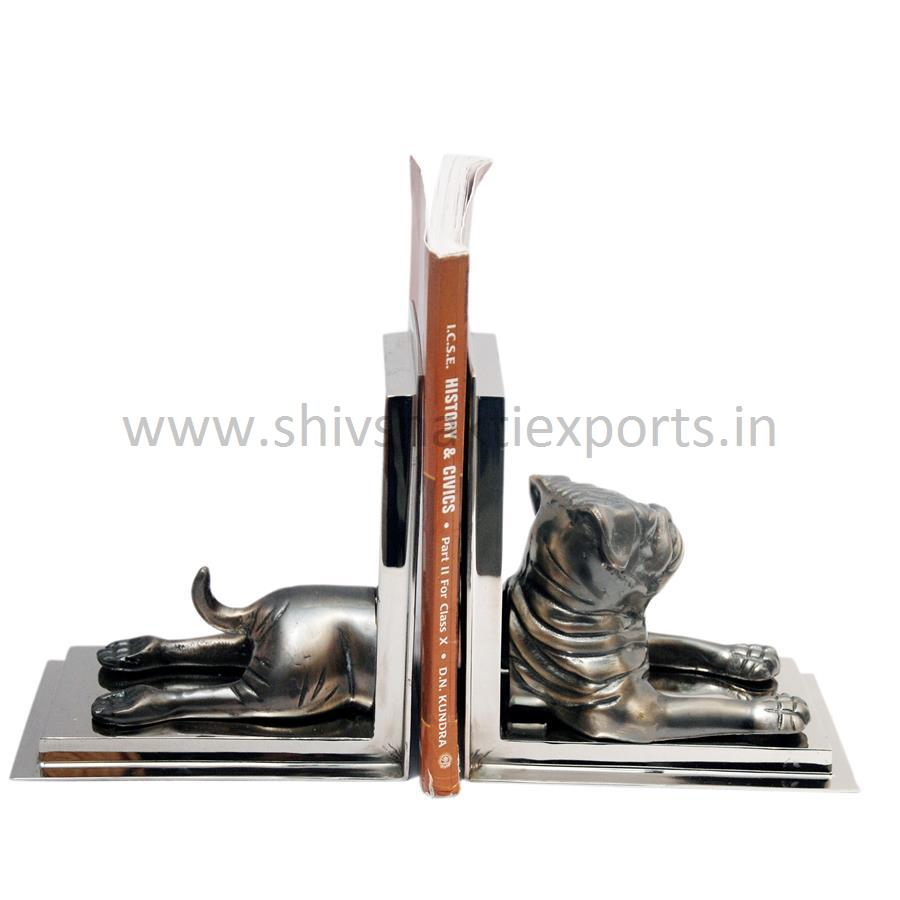 Bull Dog Shape Booked with Copper Antique Finish